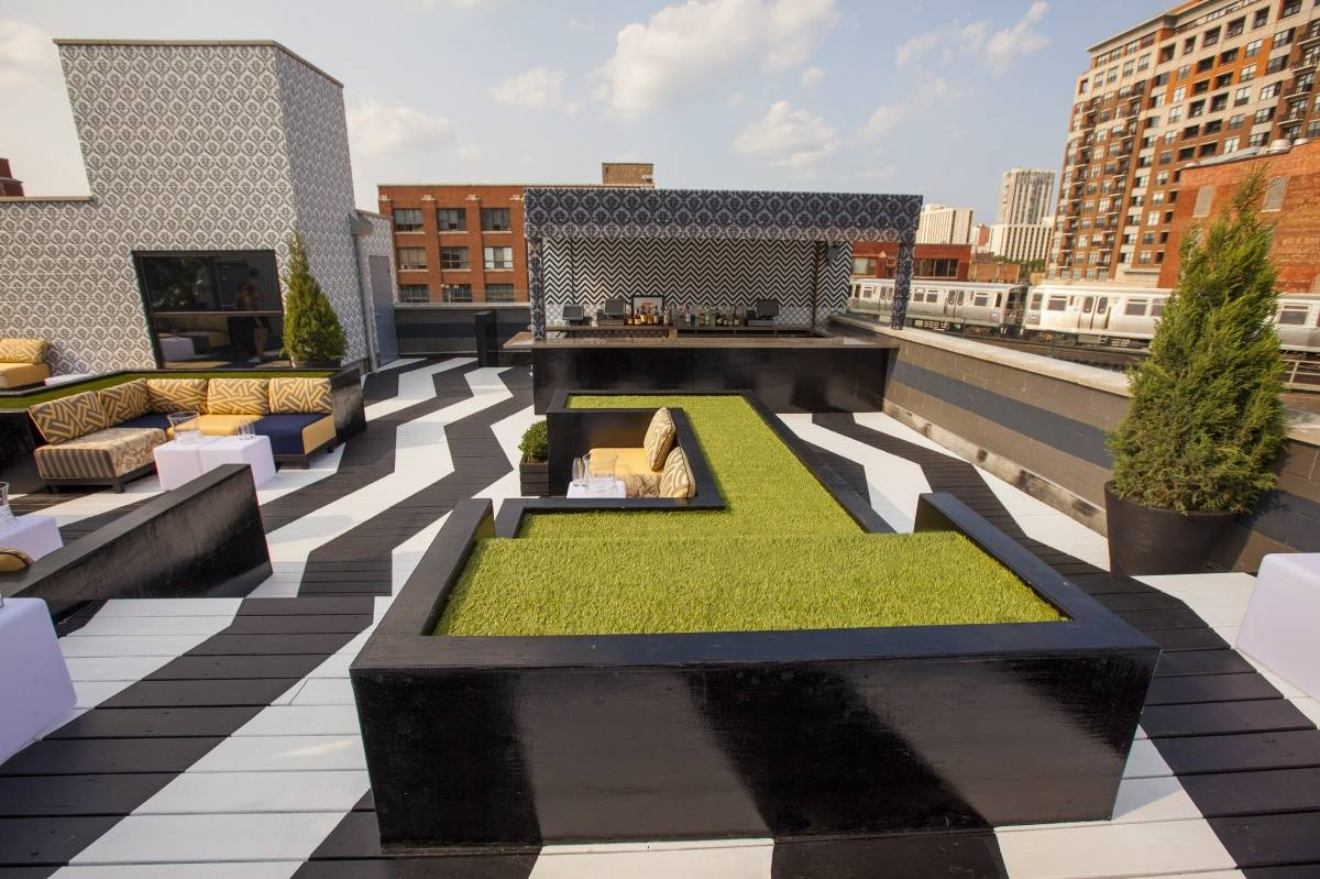 Image of an office rooftop